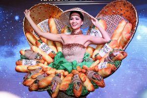 Trang phục dân tộc của người đẹp Việt ở Miss Universe thay đổi ra sao?