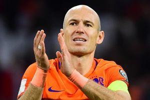 Đội hình Hà Lan dự EURO 2020 không có chỗ cho Robben