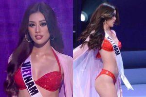 Những cú xoay của Khánh Vân ở bán kết Hoa hậu Hoàn vũ