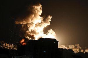 160 máy bay, xe tăng và pháo Israel tấn công Gaza
