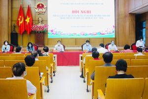 Các ứng cử viên đại biểu HĐND TP Hà Nội khóa XVI tiếp xúc cử tri quận Ba Đình