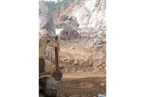 Thái Nguyên tạm dừng hoạt động tại mỏ đá Lân Đăm 2 và 3
