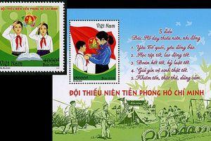Phát hành bộ tem 'Đội Thiếu niên Tiền phong Hồ Chí Minh'