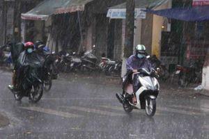 Bắc Bộ đề phòng mưa lớn, lốc sét, gió giật mạnh từ đêm 16-5