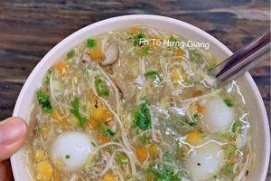 Cách nấu món súp gà ngô ghẹ thơm ngon, bổ dưỡng xua tan mệt mỏi