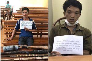 Sơn La: Triệt phá 2 vụ vận chuyển lượng lớn ma túy cùng 5 khẩu súng tự chế