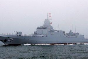 Hải quân Trung Quốc điều hạm đội hiện đại hộ tống các tàu dân sự tới vịnh Aden
