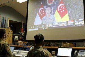 Mỹ và Singapore hoàn thành cuộc tập trận trực tuyến Tiger Balm lần thứ 40
