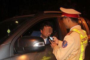 Vi phạm nồng độ cồn, nam tài xế bị phạt 35 triệu đồng
