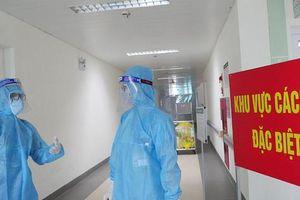 Thâm nhập khu vực cách ly đặc biệt của BV Thanh Nhàn sau khi xuất hiện ca mắc COVID-19