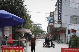 Bắc Giang giãn cách xã hội huyện Việt Yên