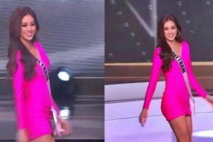 Khánh Vân tỏa sáng trong đêm Bán kết Miss Universe