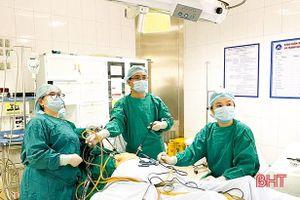 BVĐK TP Hà Tĩnh phẫu thuật thành công trường hợp mang thai ngoài tử cung đóng ở ổ bụng hiếm gặp