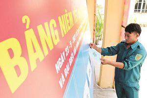 Quảng Nam: Sẵn sàng cho ngày bầu cử sớm tại 6 xã vùng biên giới