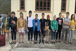 Bộ đội biên phòng bắt giữ 18 người nhập cảnh trái phép