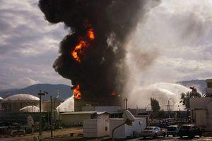 Máy bay không người lái của Iran tấn công nhà máy hóa chất của Israel