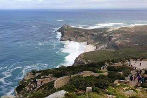 Phong cảnh hùng vĩ ở mũi Hảo Vọng - điểm tận cùng của Nam Phi