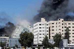 Văn phòng hãng AP ở Gaza bị phá hủy sau cuộc không kích của Israel