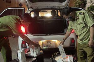 TP Hồ Chí Minh: Thu giữ gần 1.500 bao thuốc lá JET và 555 không rõ nguồn gốc