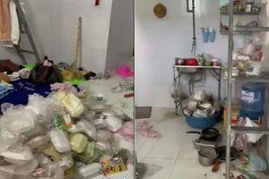 Kiểm tra phòng nữ sinh, chủ trọ 'toát mồ hôi hột' vì rác chất chồng như núi