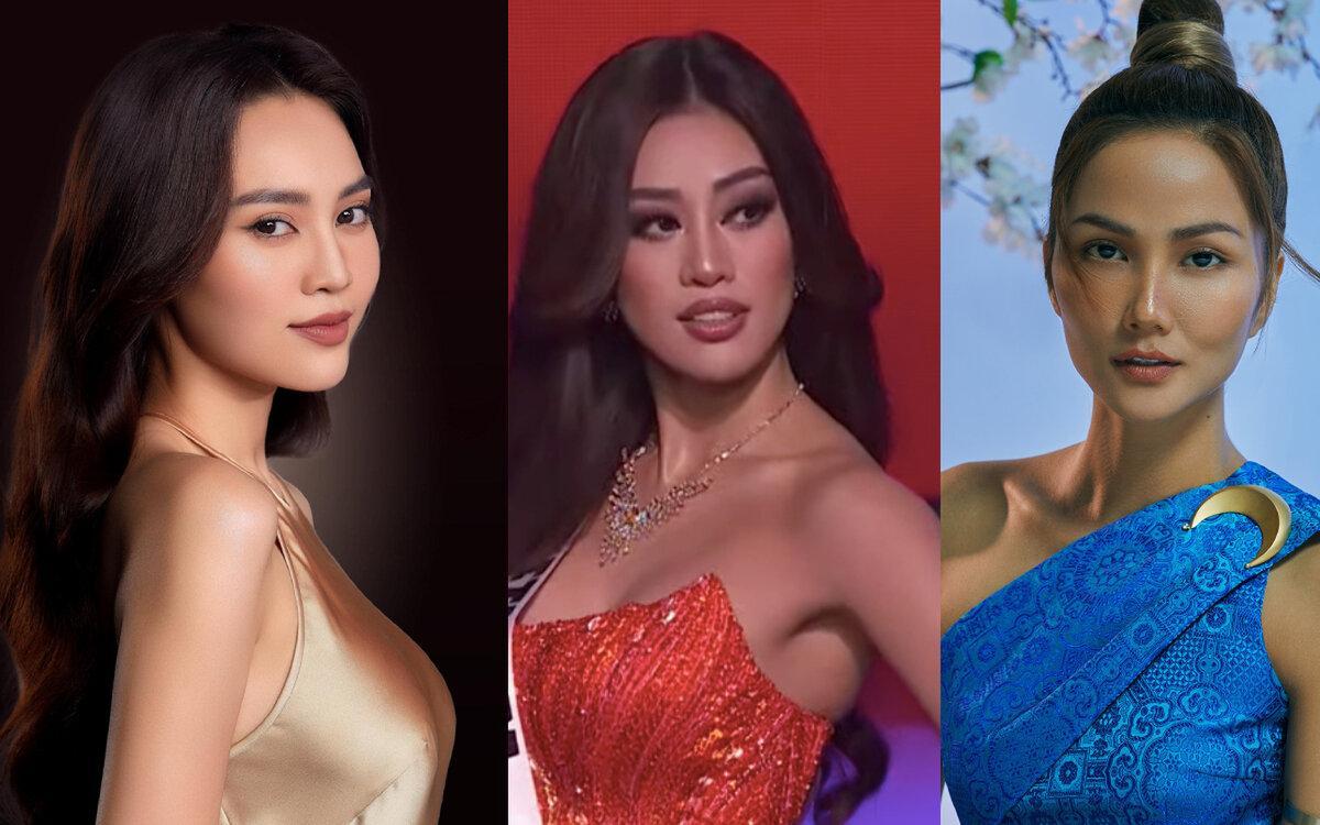 H'Hen Niê, Lan Ngọc, BB Trần 'thảng thốt' với 3 màn trình diễn của Khánh Vân tại bán kết Miss Universe