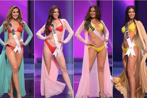 Top 10 phần thi áo tắm ấn tượng tại Miss Universe: Khánh Vân 'kèn cựa' body với dàn mỹ nhân cực phẩm