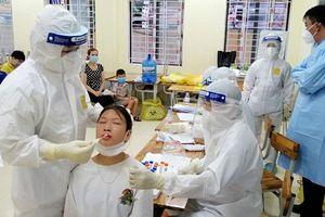 Việt Yên: Hơn 26,3 nghìn người dân, công nhân ở thị trấn Nếnh được xét nghiệm Covid-19