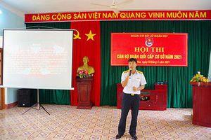 Đoàn cơ sở Lữ đoàn 957 tổ chức Hội thi cán bộ đoàn giỏi cấp cơ sở năm 2021