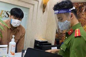 Kiểm tra hành chính tại Chung cư Leagend, phát hiện người nhập cảnh trái phép