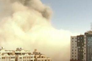 Trụ sở nhiều hãng tin quốc tế ở Gaza trúng tên lửa của Israel