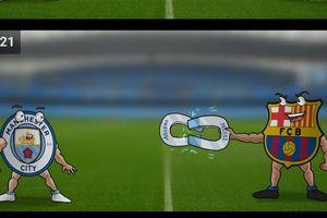 Biếm họa 24h: Messi 'rủ' Aguero rời Man City sang Barca