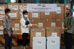 Indonesia viện trợ vật tư y tế cho Ấn Độ giúp đối phó dịch Covid-19