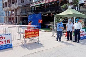 Bắc Giang giãn cách xã hội toàn bộ huyện Việt Yên