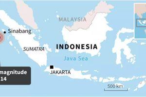 Động đất mạnh 6,7 độ ở Bắc Sumatra (Indonesia)