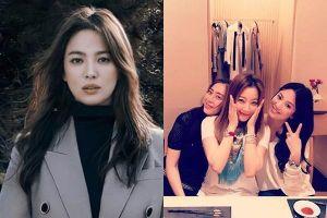 Hội bạn thân 20 năm của Song Hye Kyo: Toàn sao hạng A, chồng là người 'máu mặt'