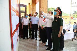 Huyện Ba Vì bảo đảm an toàn phòng, chống dịch phục vụ cuộc bầu cử