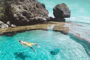 Hồ thủy triều Magpupungko trên đảo Siagrao