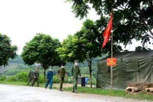 Lào Cai: Tăng cường công tác kiểm soát dịch qua biên giới