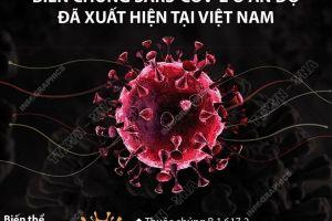 Phát hiện 2 biến chủng SARS-CoV-2 mới tại Việt Nam