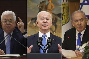 Tổng thống Mỹ điện đàm với lãnh đạo Israel-Palestine