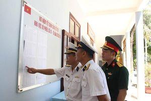 20 điểm bỏ phiếu tại huyện đảo Trường Sa đã bầu cử sớm
