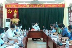 Bắc Giang: Cho dừng hoạt động những doanh nghiệp không đủ điều kiện phòng, chống dịch