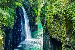 Hẻm núi được mệnh danh là nơi nước Nhật được sinh ra