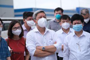 Thứ trưởng Bộ Y tế: 4 lưu ý để Bắc Giang dập dịch
