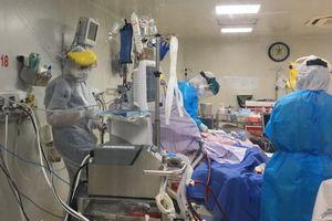 Một bệnh nhân Covid-19 điều trị ở TP.HCM tiên lượng nặng