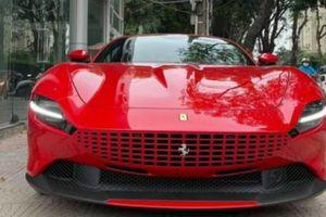 Chiêm ngưỡng siêu xe Ferrari Roma 2021 đầu tiên tại Hà Nội, hơn 19 tỷ đồng