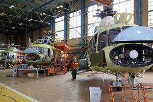 Nga đứng thứ hai về sản xuất trực thăng chiến đấu