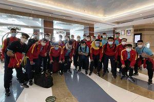 Đội tuyển Futsal Việt Nam đã tới UAE