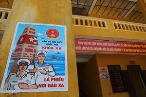 Hôm nay, nhiều khu vực huyện đảo Trường Sa và 6 xã biên giới Quảng Nam bầu cử sớm