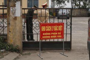 Bắc Giang: Gần 800 cán bộ, giáo viên và học sinh đang cách ly tập trung (F1)